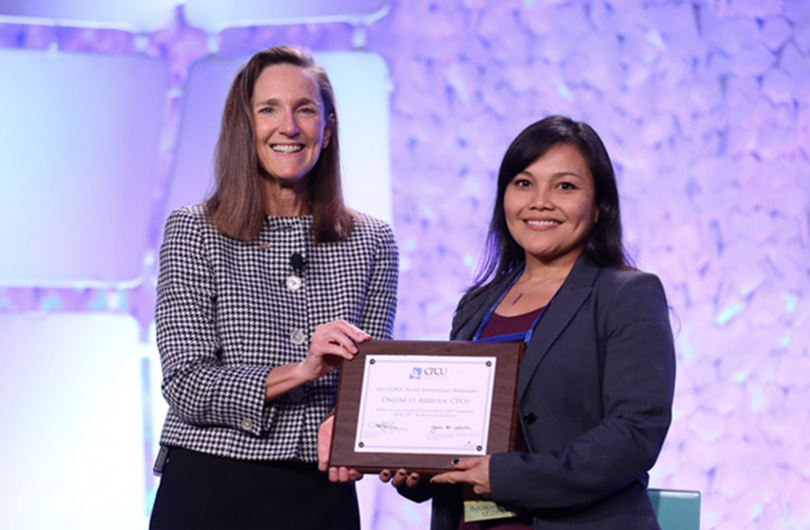 CPCU Society Selects Orlene Arriola as International Ambassador